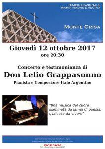 Concerto e testimonianza di don Lelio Grappasonno