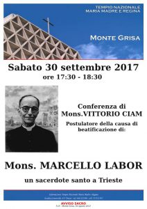 Conferenza su Mons. Marcello Labor