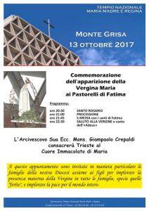 Commemorazione 13 ottobre