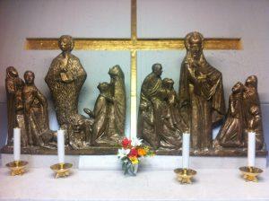 Altare di San Girolamo e San Simeone patroni della Dalmazia e di Zara