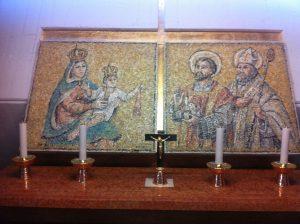 Altare della Madonna del Carmine e dei Santi Mauro e Donato patroni di Isola d'Istria