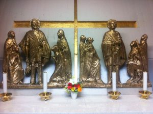 Altare di San Vito e San Modesto, protettori di Fiume