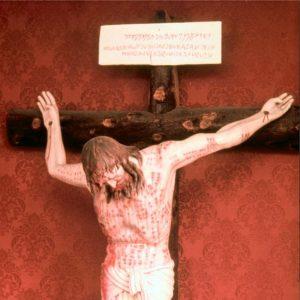 Parte superiore di un crocifisso