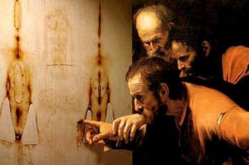 Incredulità di san Tommaso (elaborazione) - Caravaggio