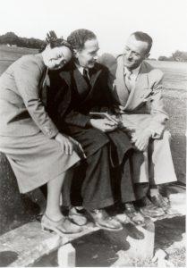 Marcello Labor, con la figlia ed il futuro genero