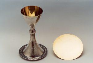 Calice e patena del decimo Anniversario dell'Ordinazione