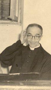 Marcello Labor, Parroco di San Giusto