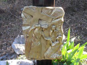Sesta stazione - Gesù è asciugato dalla Veronica
