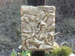 Settima stazione - Gesù cade la seconda volta