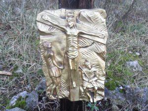 Dodicesima stazione - Gesù muore in croce